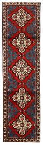 Rudbar Covor 80X297 Orientale Lucrat Manual Roșu-Închis/Maro Închis (Lână, Persia/Iran)