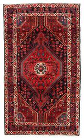 Hamadan Covor 115X199 Orientale Lucrat Manual Roșu-Închis/Maro Închis (Lână, Persia/Iran)