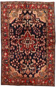Mahal Covor 137X213 Orientale Lucrat Manual Roșu-Închis/Maro Închis (Lână, Persia/Iran)