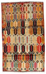 Moroccan Berber - Afghanistan Covor 112X184 Modern Lucrat Manual Maro Închis/Roşu (Lână, Afganistan)