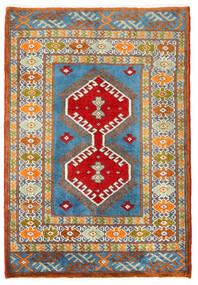 Turkaman Covor 57X60 Orientale Lucrat Manual Pătrat Gri Închis/Bej Închis (Lână, Persia/Iran)