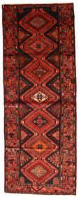 Hamadan Covor 103X280 Orientale Lucrat Manual Roșu-Închis/Ruginiu (Lână, Persia/Iran)