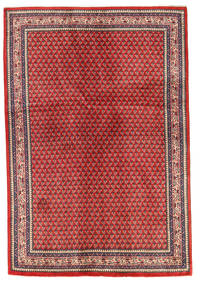 Sarouk Covor 130X192 Orientale Lucrat Manual Ruginiu/Roșu-Închis (Lână, Persia/Iran)
