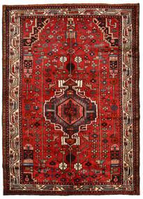 Hamadan Covor 148X208 Orientale Lucrat Manual Ruginiu/Roșu-Închis (Lână, Persia/Iran)