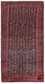 Kurdi Covor 147X275 Orientale Lucrat Manual Roșu-Închis/Albastru Închis (Lână, Persia/Iran)