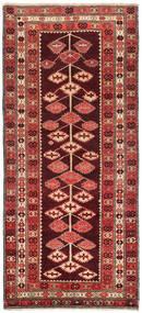 Chilim Karabah Covor 132X303 Orientale Lucrate De Mână Roșu-Închis/Ruginiu (Lână, Azerbaidjan/Rusia)