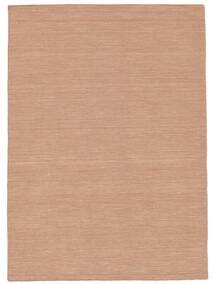 Chilim Loom - Dusty Rose Covor 160X230 Modern Lucrate De Mână Roşu/Roz Deschis (Lână, India)