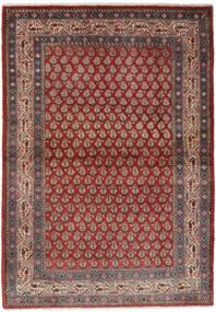 Sarouk Mir Covor 106X158 Orientale Lucrat Manual Maro Închis/Negru (Lână, Persia/Iran)