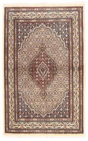 Moud Covor 96X153 Orientale Lucrat Manual Bej/Roșu-Închis (Lână/Mătase, Persia/Iran)