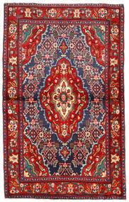Sarouk Covor 102X165 Orientale Lucrat Manual Roșu-Închis/Mov Închis (Lână, Persia/Iran)