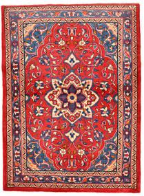 Sarouk Covor 115X159 Orientale Lucrat Manual Roşu/Roz Deschis (Lână, Persia/Iran)