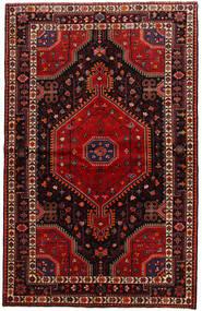 Toiserkan Covor 141X225 Orientale Lucrat Manual Roșu-Închis (Lână, Persia/Iran)