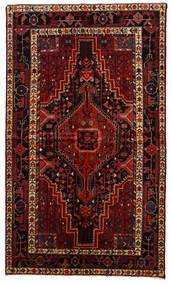 Toiserkan Covor 145X247 Orientale Lucrat Manual Roșu-Închis/Maro Închis (Lână, Persia/Iran)