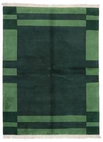 Gabbeh Indo Covor 171X226 Modern Lucrat Manual Întuneric Turquoise/Verde Închis (Lână, India)