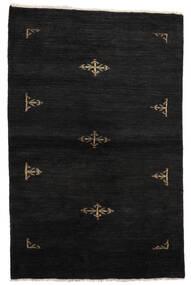 Huttan Covor 99X155 Orientale Lucrat Manual Negru (Lână, Pakistan)