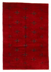 Huttan Covor 125X183 Orientale Lucrat Manual Roșu-Închis (Lână, Pakistan)