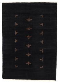 Huttan Covor 137X195 Orientale Lucrat Manual Negru (Lână, Pakistan)