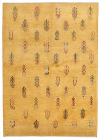Gabbeh Persia Covor 145X203 Modern Lucrat Manual Maro Deschis (Lână, Persia/Iran)