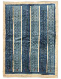 Gabbeh Persia Covor 154X210 Modern Lucrat Manual Albastru Închis/Albastru (Lână, Persia/Iran)