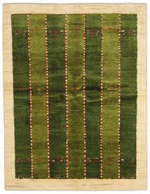 Gabbeh Persia Covor 146X190 Modern Lucrat Manual Verde Închis/Bej (Lână, Persia/Iran)