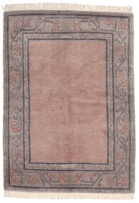 Himalaya Covor 142X197 Modern Lucrat Manual Roz Deschis/Gri Deschis (Lână, India)