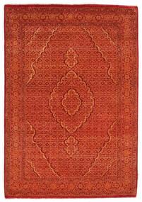 Gabbeh Loribaft Covor 128X182 Modern Lucrat Manual Portocaliu/Roşu/Ruginiu (Lână, India)