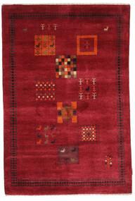 Gabbeh Loribaft Covor 120X180 Modern Lucrat Manual Roşu/Roșu-Închis (Lână, India)