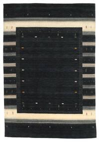 Loribaf Loom Covor 203X299 Modern Lucrat Manual Negru (Lână, India)
