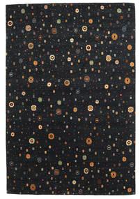 Loribaf Loom Covor 169X238 Modern Lucrat Manual Negru (Lână, India)