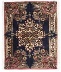Sarouk Covor 70X90 Orientale Lucrat Manual Maro Închis/Negru (Lână, Persia/Iran)