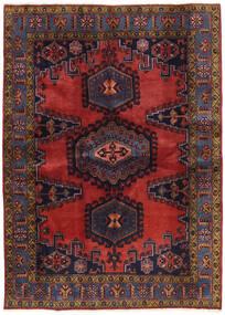 Wiss Patina Covor 173X239 Orientale Lucrat Manual Roșu-Închis/Negru (Lână, Persia/Iran)