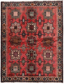 Ghashghai Semnat: Kadamali Year 1374 (1995) Covor 167X213 Orientale Lucrat Manual Negru/Maro Închis (Lână, Persia/Iran)