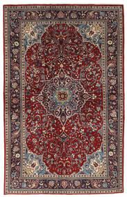 Sarouk Covor 133X214 Orientale Lucrat Manual Roșu-Închis/Maro (Lână, Persia/Iran)