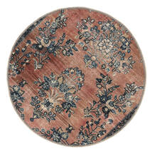 Vintage Heritage Covor Ø 100 Modern Lucrat Manual Rotund Maro Deschis/Negru (Lână, Persia/Iran)