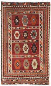 Chilim Vintage Covor 133X232 Orientale Lucrate De Mână Roșu-Închis/Maro Deschis/Maro Închis (Lână, Persia/Iran)