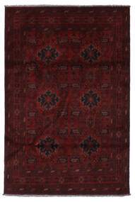 Afghan Khal Mohammadi Covor 132X199 Orientale Lucrat Manual Roșu-Închis (Lână, Afganistan)