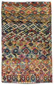 Moroccan Berber - Afghanistan Covor 117X182 Modern Lucrat Manual Gri Închis/Gri Deschis (Lână, Afganistan)