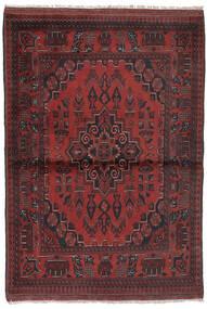 Afghan Khal Mohammadi Covor 96X147 Orientale Lucrat Manual Negru/Maro Închis (Lână, Afganistan)