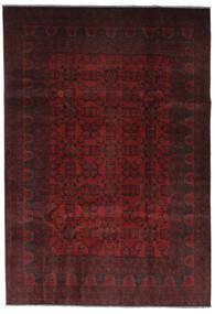 Afghan Khal Mohammadi Covor 206X295 Orientale Lucrat Manual Negru (Lână, Afganistan)