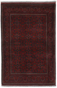 Afghan Khal Mohammadi Covor 102X152 Orientale Lucrat Manual Negru (Lână, Afganistan)