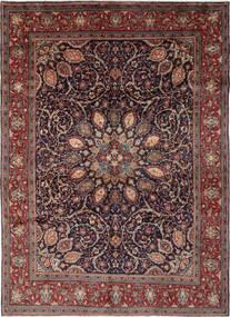 Mahal Covor 270X364 Orientale Lucrat Manual Negru/Maro Închis Mare (Lână, Persia/Iran)