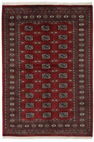 Pakistan Bukhara 2Ply Covor 141X206 Orientale Lucrat Manual Negru (Lână, Pakistan)