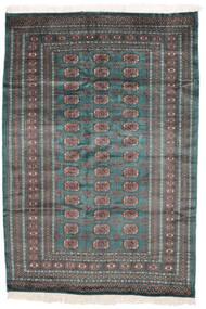 Pakistan Bukhara 2Ply Covor 159X229 Orientale Lucrat Manual Negru/Maro Închis (Lână, Pakistan)