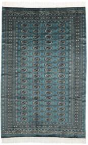 Pakistan Bukhara 2Ply Covor 150X230 Orientale Lucrat Manual Negru/Întuneric Turquoise (Lână, Pakistan)