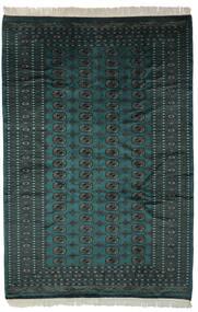 Pakistan Bukhara 2Ply Covor 193X282 Orientale Lucrat Manual Negru (Lână, Pakistan)