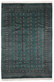 Pakistan Bukhara 2Ply Covor 159X226 Orientale Lucrat Manual Negru (Lână, Pakistan)