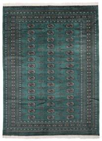 Pakistan Bukhara 2Ply Covor 170X229 Orientale Lucrat Manual Negru/Întuneric Turquoise (Lână, Pakistan)