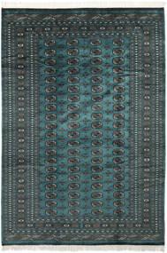 Pakistan Bukhara 2Ply Covor 185X274 Orientale Lucrat Manual Negru/Întuneric Turquoise (Lână, Pakistan)