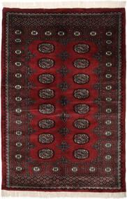 Pakistan Bukhara 3Ply Covor 128X192 Orientale Lucrat Manual Negru (Lână, Pakistan)