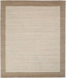 Handloom Frame - Natural/Sand Covor 250X300 Modern Maro Deschis/Gri Deschis/Maro Închis Mare (Lână, India)